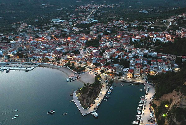Aerial View of Thassos, Eastern Macedonia-Thrace