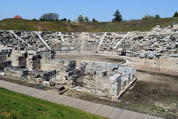 Ancient Theatre of Larissa, Thessaly, Greece