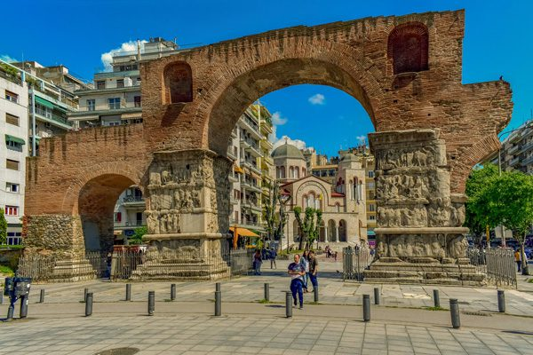 Arch Of Galerius, Thessaloniki, Central Macedonia