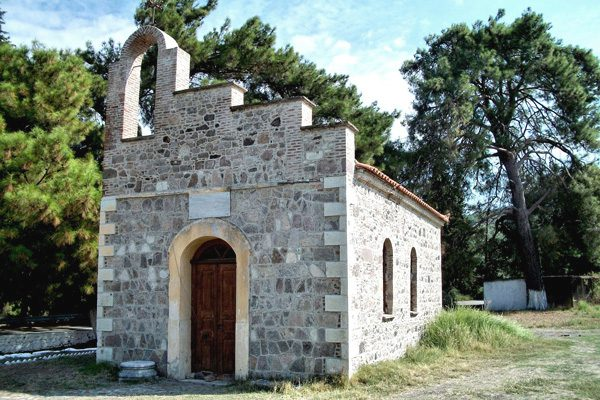 Chapel, Lesvos island, North Aegean Islands, Greece