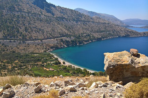 Getting to Chios, North Aegean Islands, Greece-