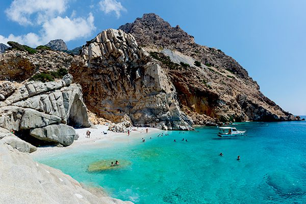 Ikaria Seychelles beach, North Aegean Islands, Greece
