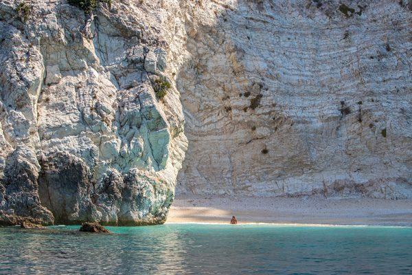 Ithaca beach, Ionian Islands, Greece
