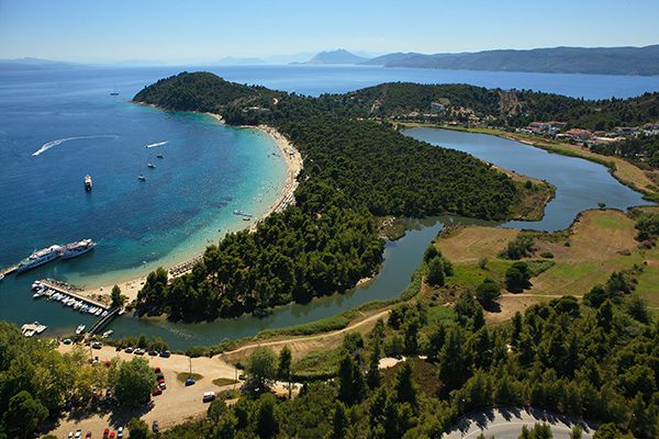 Koukounaries Beach, Skiathos, Sporades, Greece,