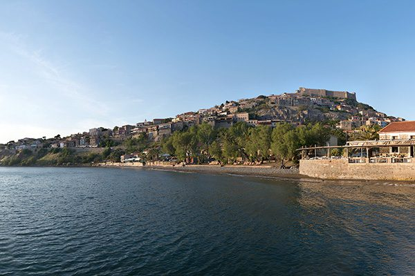 Molivos Castle, Lesvos, North Aegean Islands, Greece