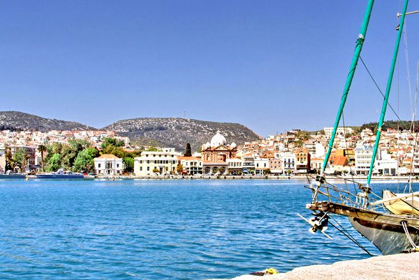 Mytilene Harbour, Lesvos, North Aegean Islands, Greece