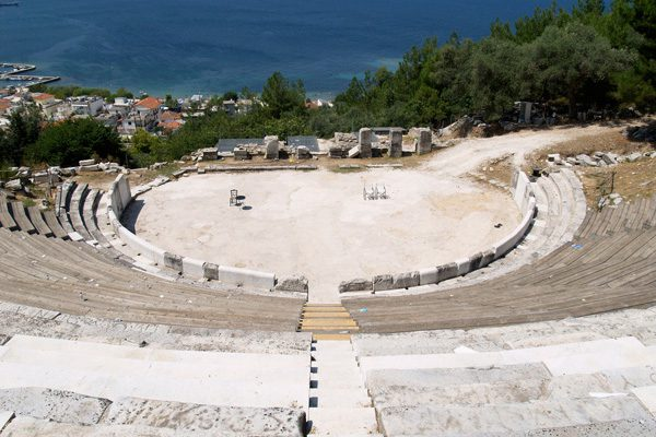 Odeon of Thassos, Eastern Macedonia-Thrace, Greece