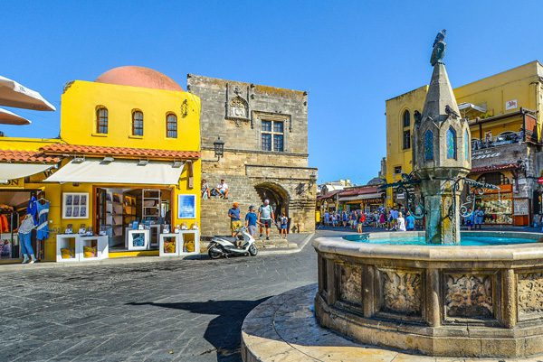 Rhodes Town, Dodecanese