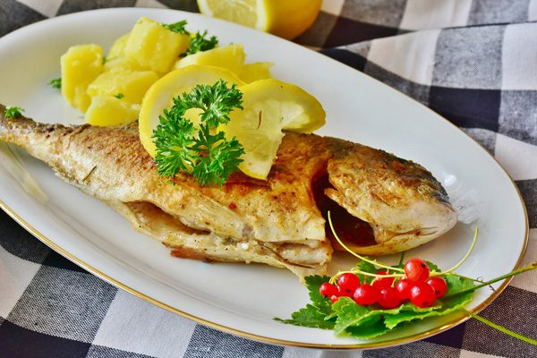 Sea Bream, Preveza Gastronomy, Epirus, Greece