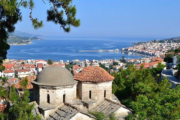 Town of Samos, North Aegean Islands, Greece