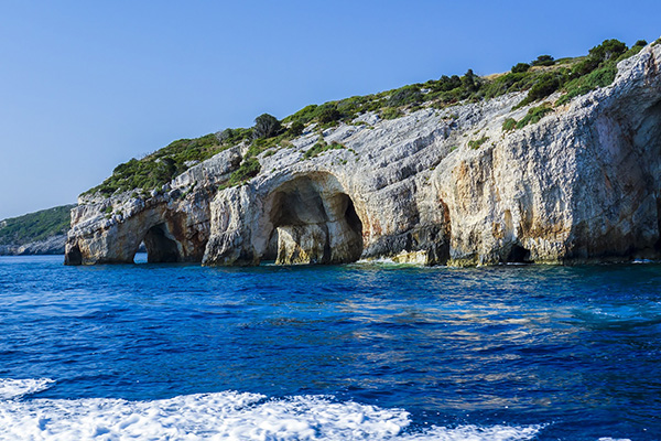 Blue Caves, Ionian Islands, Greece